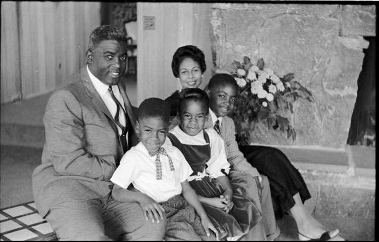 Jackie Robinson and His Family